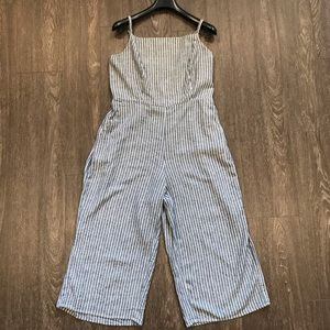 Old Navy square neck cami jumpsuit size Lg (12-14)
